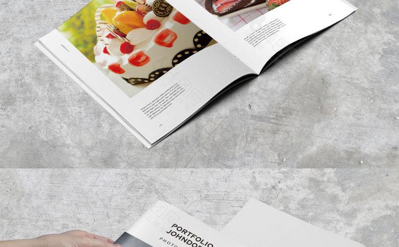 蛋糕点心画册
