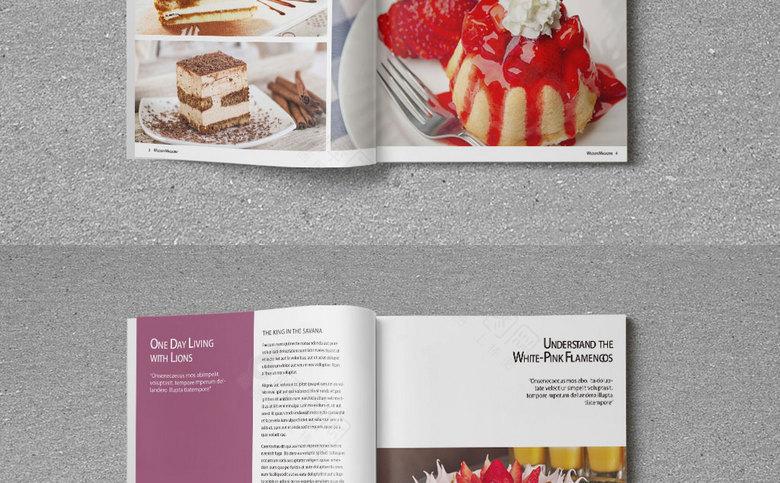 生日蛋糕宣传画册