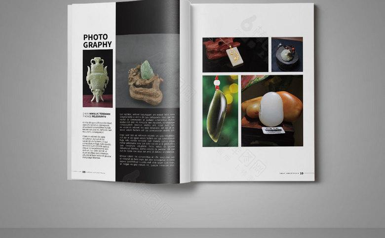 珠宝玉器宣传册模板设计