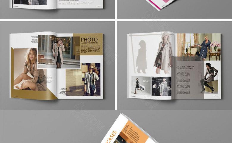 时尚风衣画册