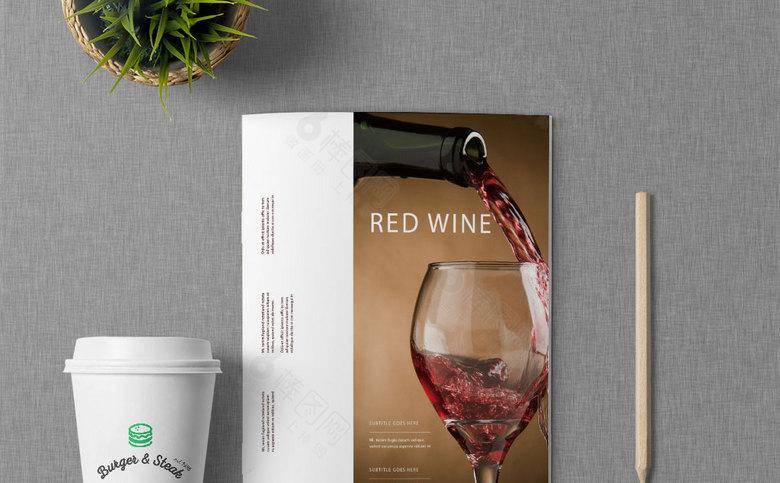 红酒画册设计