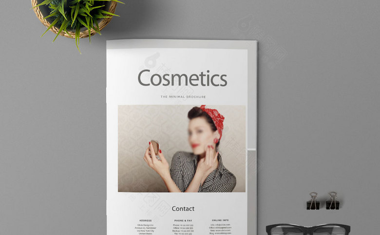 高档化妆品画册设计