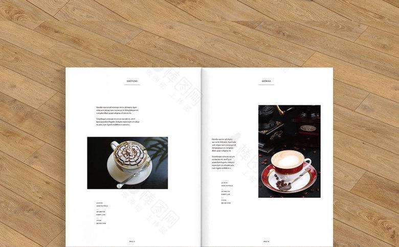 咖啡饮品画册