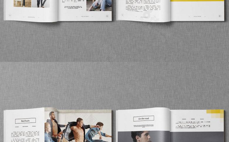 牛仔裤画册