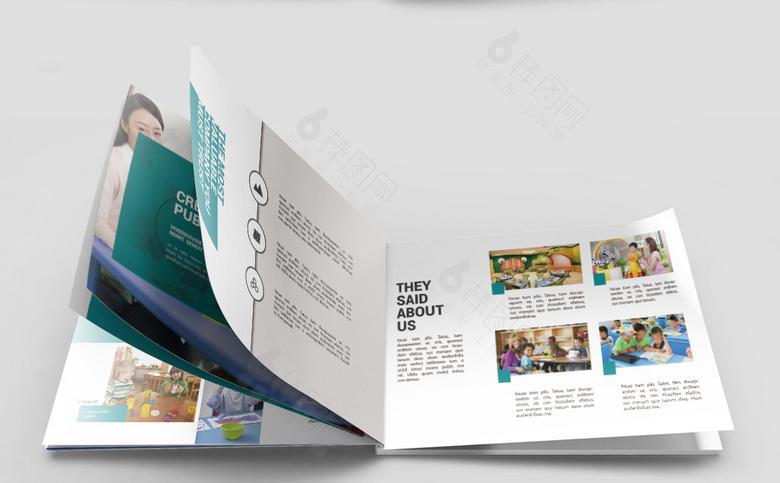 幼儿园画册模板设计