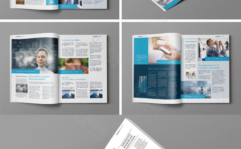 企业形象画册模板设计