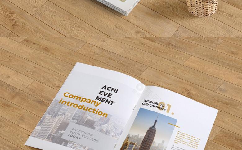 高端时尚公司画册模板设计