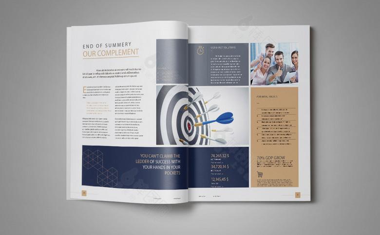 几何大气公司宣传画册设计