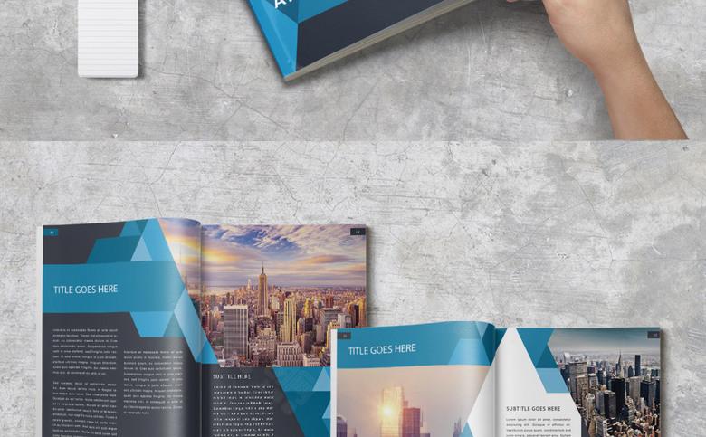公司画册模板模板设计