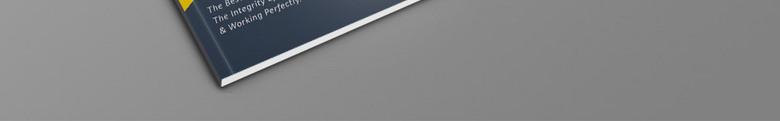 几何时尚企业画册模板设计