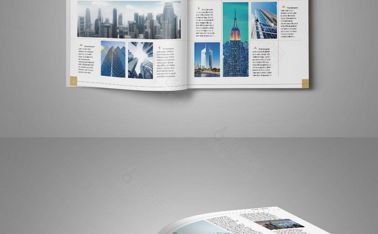 时尚商务企业形象画册