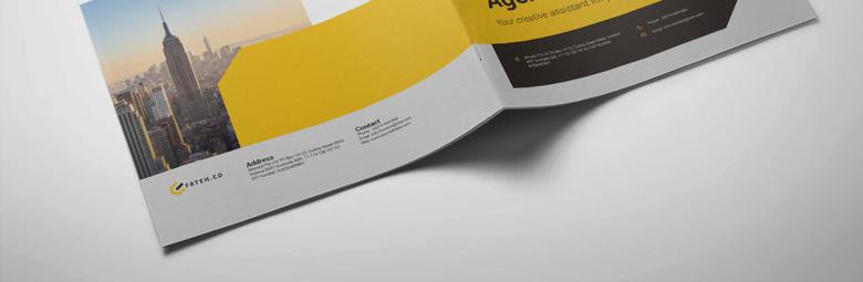 高档企业宣传册设计模板