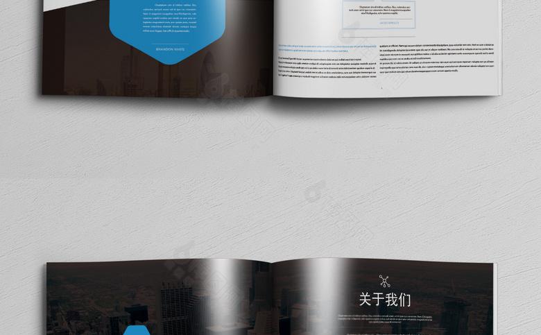精品集团企业画册设计