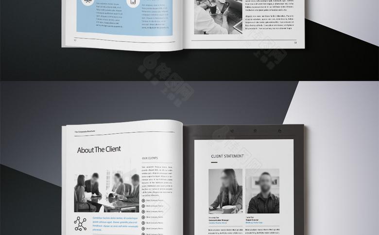 高档简约企业画册宣传设计