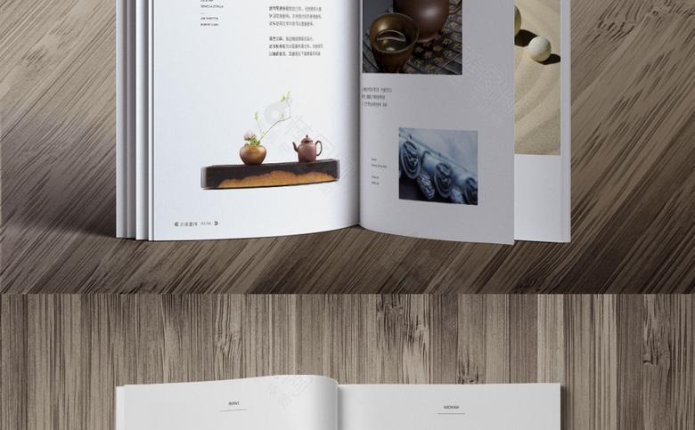 简约新中式画册设计