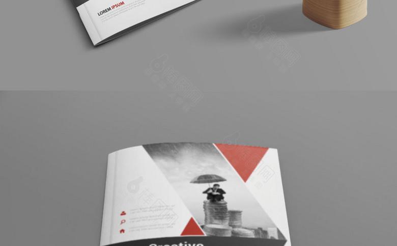大气集团画册封面设计