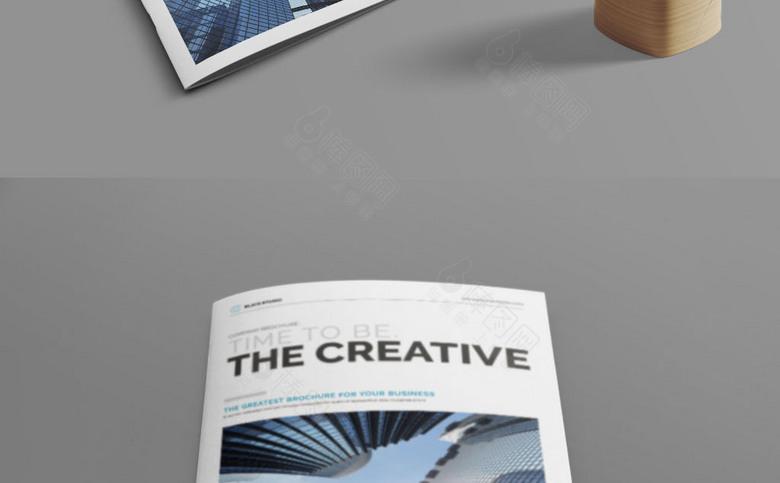 简约企业封面设计