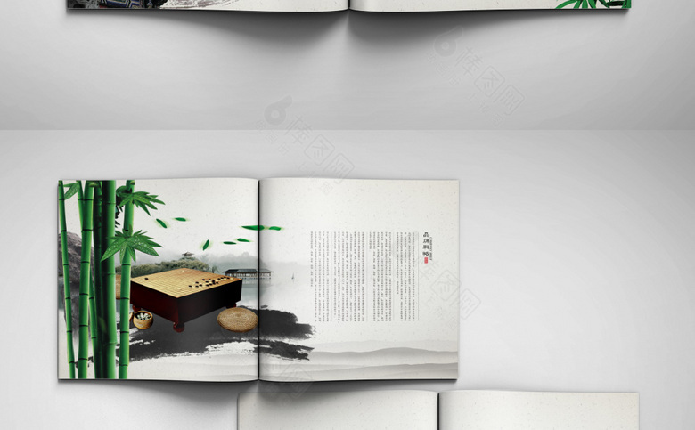 高档中国风画册设计模板