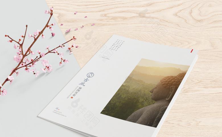 新中式画册封面