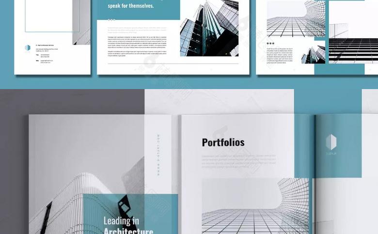 企业画册模板